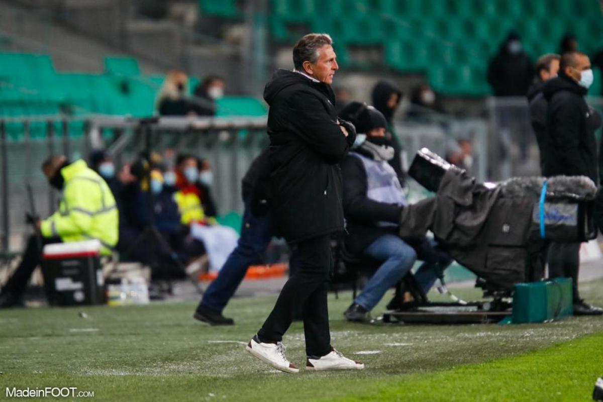 Claude Puel, l'entraîneur de l'AS Saint-Etienne.