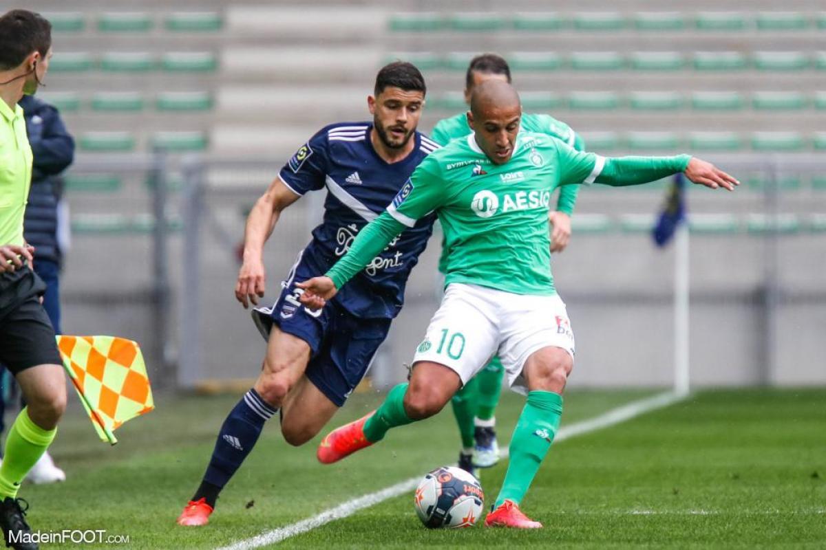L'AS Saint-Etienne s'est imposée sur sa pelouse face aux Girondins de Bordeaux (4-1), ce dimanche après-midi en Ligue 1.