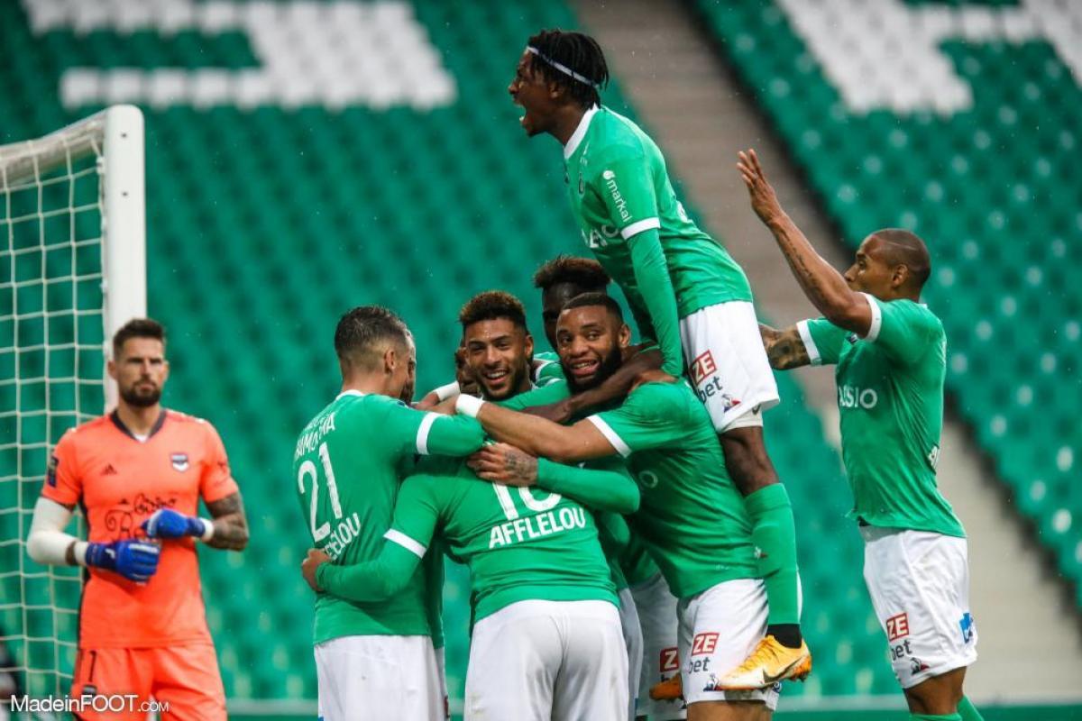 Les compositions d'équipes probables de Saint-Étienne - Bordeaux