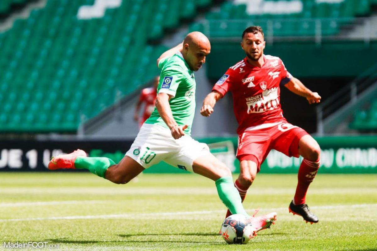 L'album photo du match entre l'AS Saint-Etienne et le Stade Brestois 29.