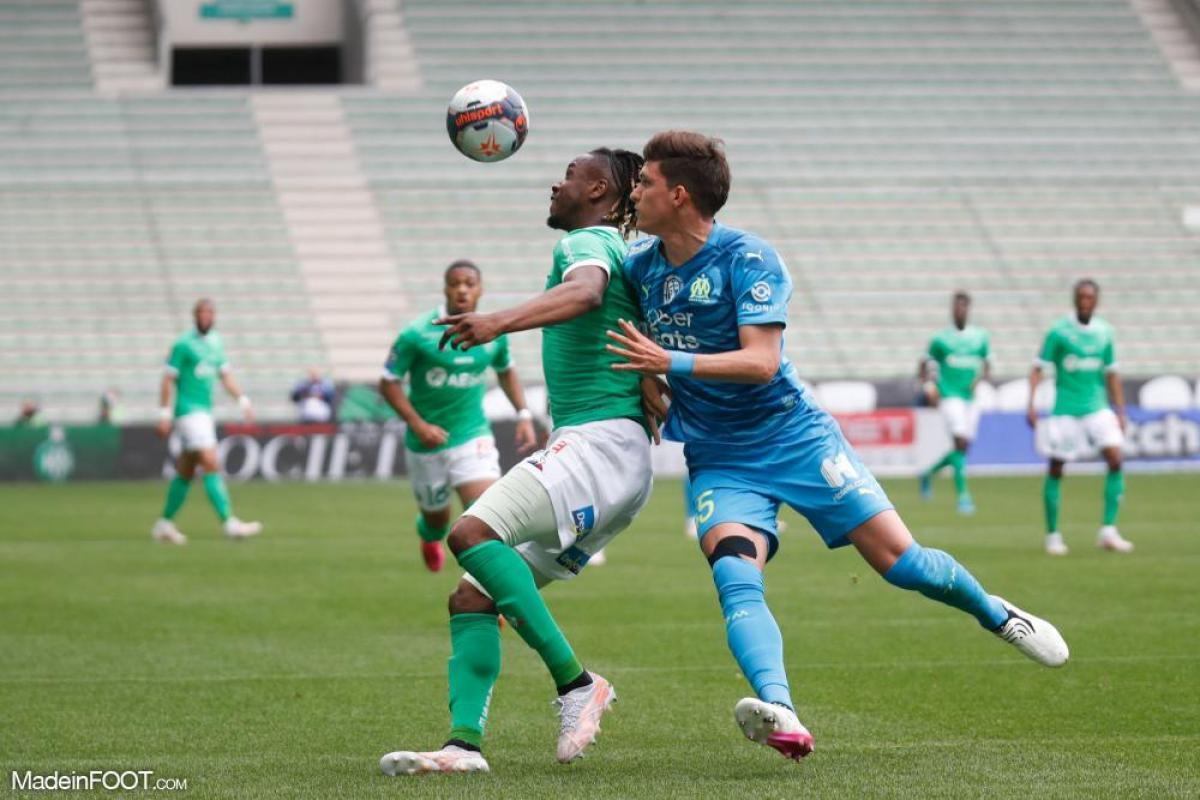 L'album photo du match entre l'AS Saint-Etienne et l'Olympique de Marseille.