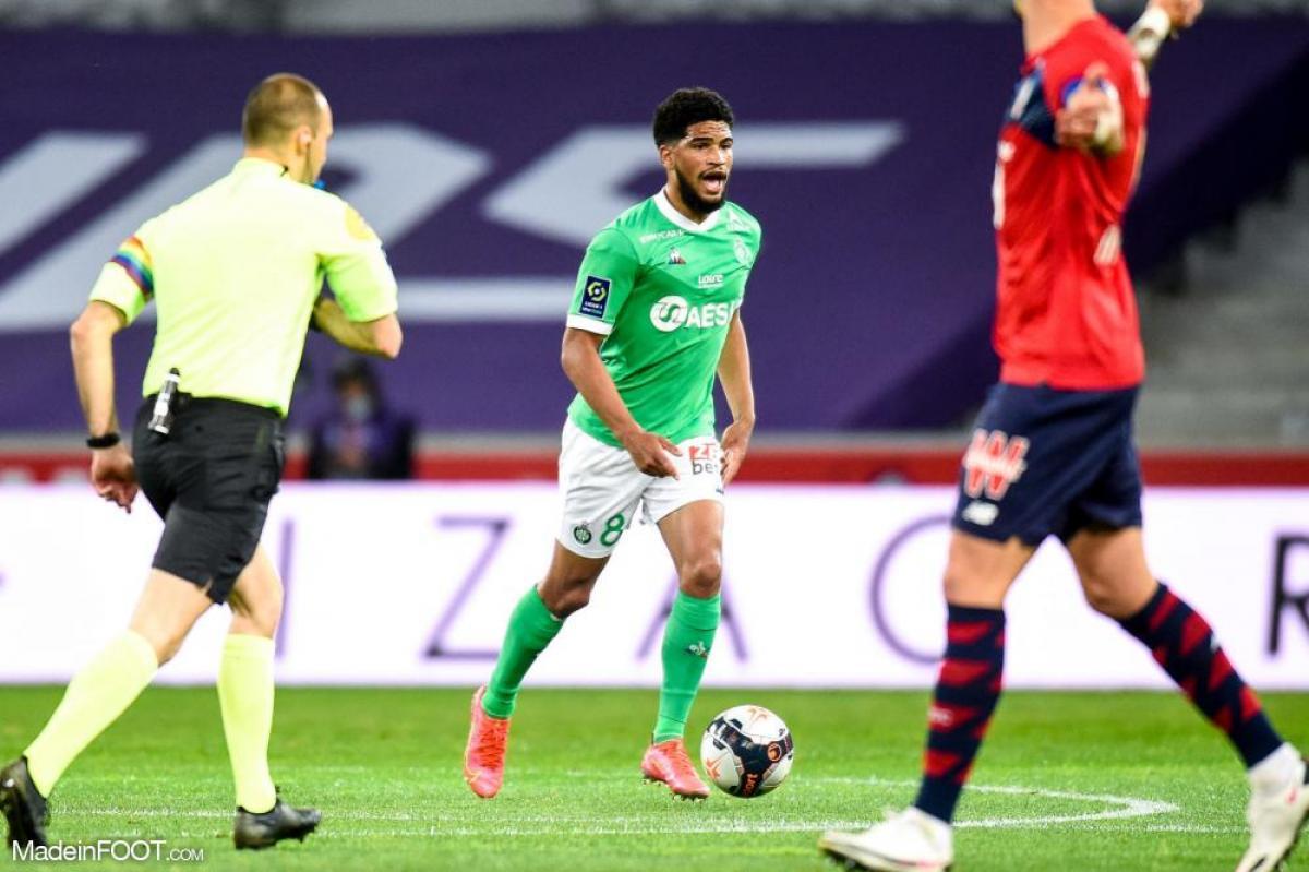 L'AS Saint-Etienne a neutralisé le Lille OSC (0-0), ce dimanche soir en Ligue 1.