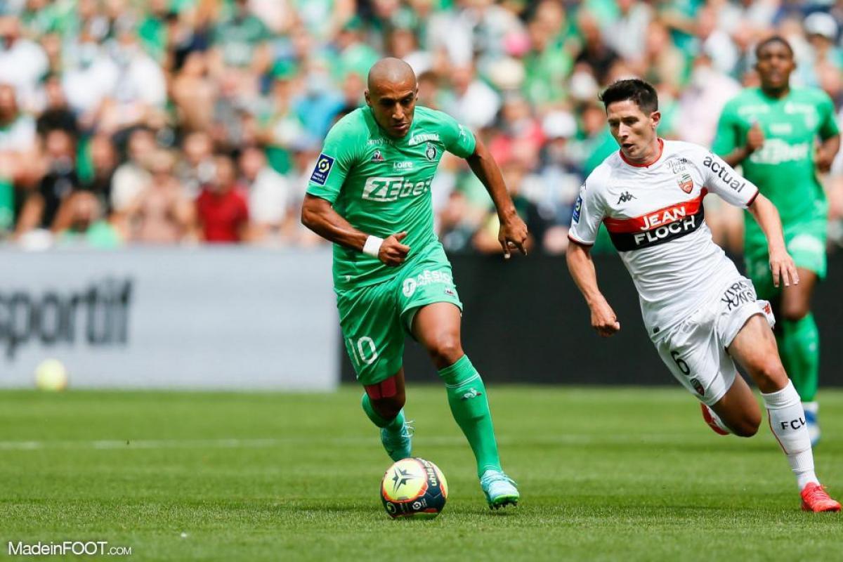 L'AS Saint-Etienne et le FC Lorient se sont séparés sur un score de parité (1-1), ce dimanche après-midi en Ligue 1.