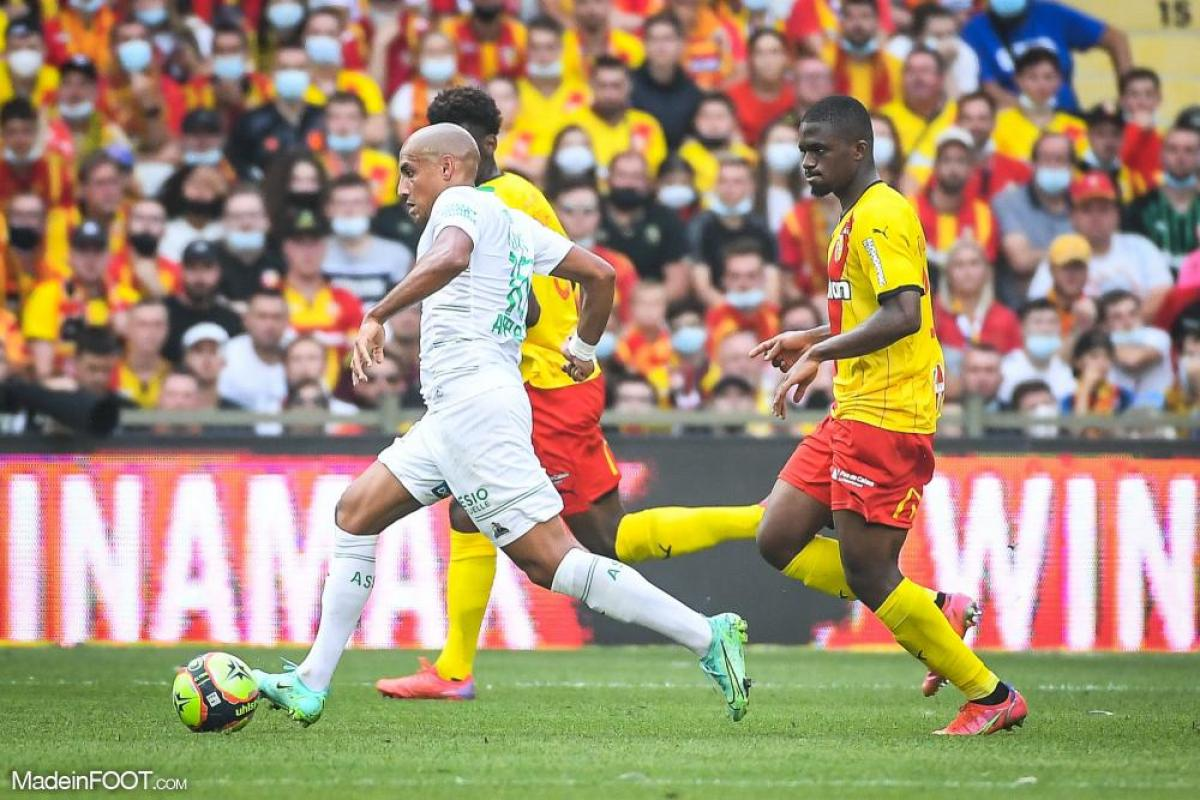 L'AS Saint-Etienne et le RC Lens se sont quittés sur un score de parité (2-2), ce dimanche après-midi en Ligue 1.