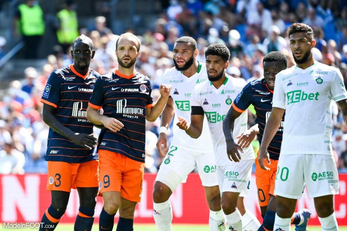L'album photo du match entre le Montpellier HSC et l'AS Saint-Etienne.