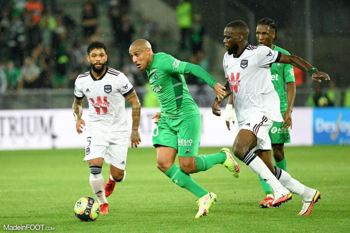 Wahbi Khazri, l'attaquant de l'AS Saint-Etienne.