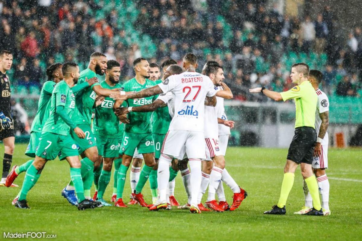 Les incidents du derby entre l'AS Saint-Etienne et l'Olympique Lyonnais seront étudiés la semaine prochaine par la commission de discipline.