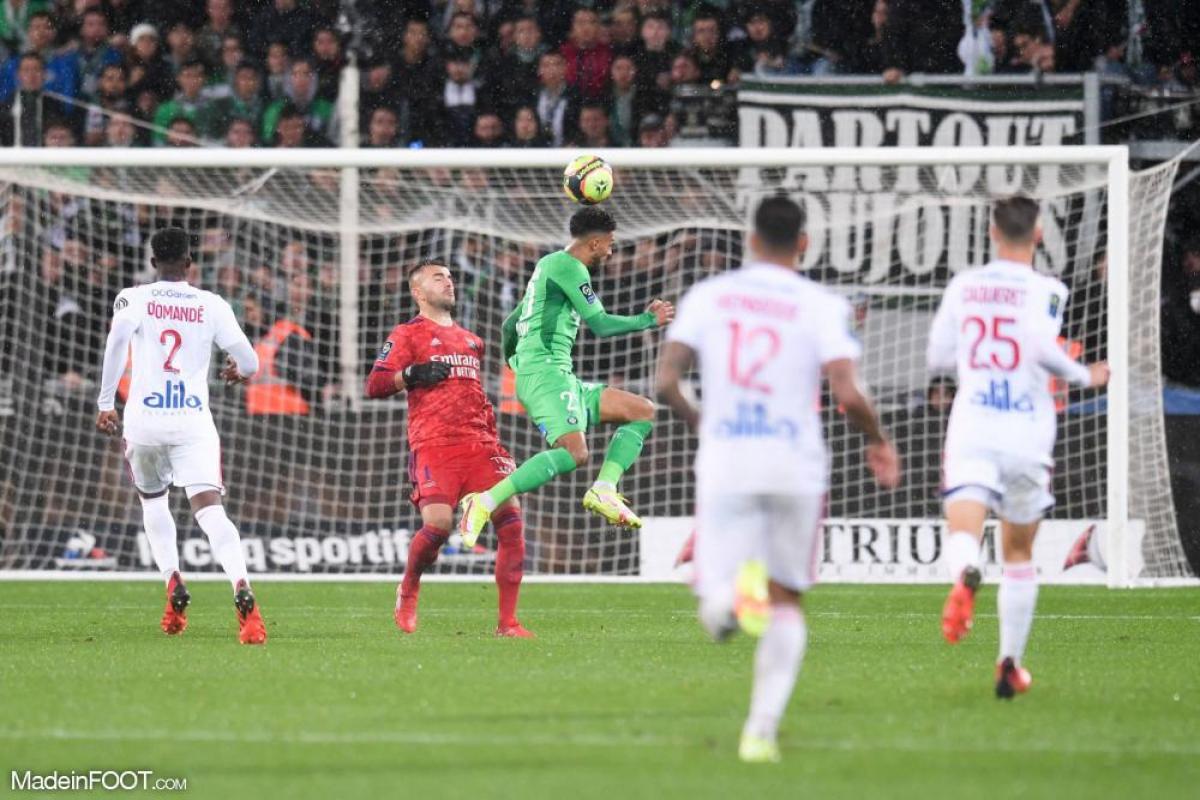 Khazri a égalisé pour Saint-Etienne