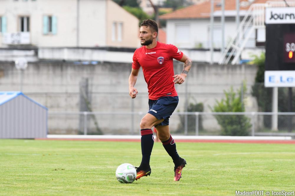 Nicolas Gavory, ici lors d'un match amical entre Montpellier et Clermont.