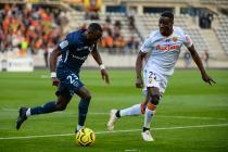 Souleymane Karamoko (Paris FC) et Massadio Haidara (Lens)