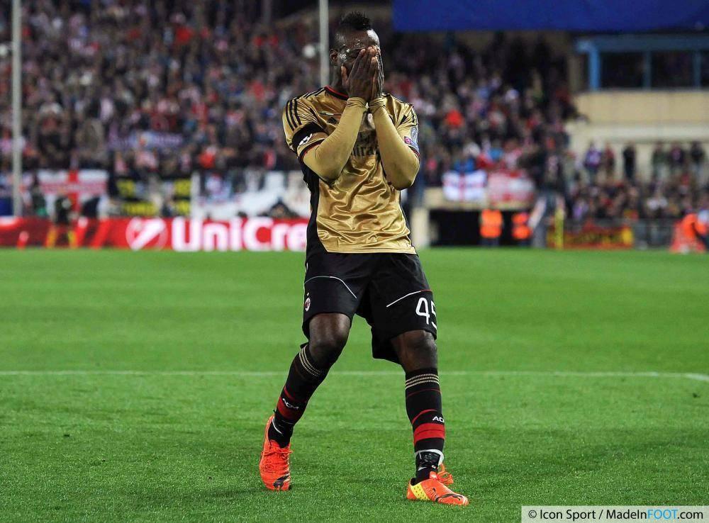 """Mario Balotelli a été acheté pour """"seulement"""" 20 M€ par Liverpool, cet été"""