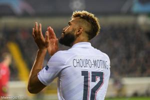 Eric Maxim Choupo-Moting, 31 ans, évolue au PSG depuis 2018.